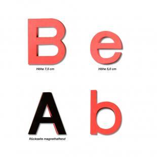 90 Große Buchstaben – Sortiment II Magnet