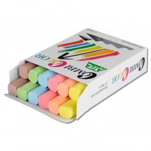 Combi Color - Tafelkreide – 6-farbig sortiert