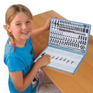 Magnetbox zum Noten lernen für Kinder