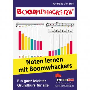 Boomwhackers – Noten lernen