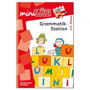 mini-LÜK – Grammatikstation 3./4. Klasse