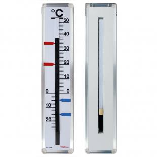 Demonstrations-Thermometer aus Stahlemaille