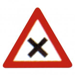 Verkehrszeichen zum Aufstellen 102