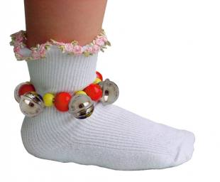 Fußband mit 6 Schellen