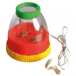 Lauschdose - mit elektronischem Geräuscheverstärker & Lupe