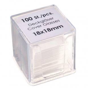 Deckgläser - 18 x 18 mm