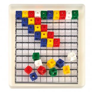 Steckwürfel-Multibox - 5 Farben