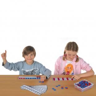 Rechenleisten 10er Set - für die Hand des Schülers
