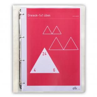 Kopiervorlagen zum Dreieck – 1 x 1 üben