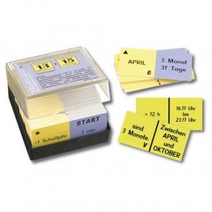 Zeitmaße-Domino - Lernspiel