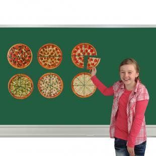 Pizza-Brüche – Magnetisches Set
