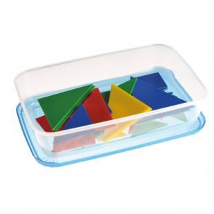 Tangramspiel in Kunststoffbox