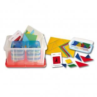 Tangram – Klassensatz in Kunststoffbox
