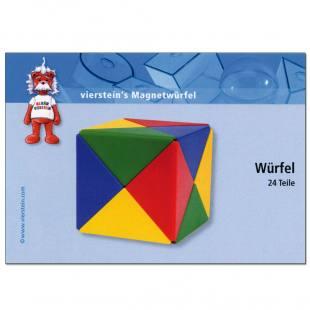 Magnetwürfel-Karten - 5er Set