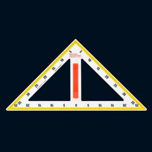 NEONcolor-Zeichendreieck - 50 cm