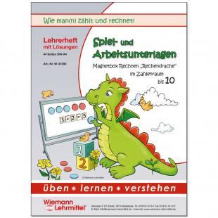 """""""Rechen-Drache"""" Kopiervorlagen für Mathe bis 10"""