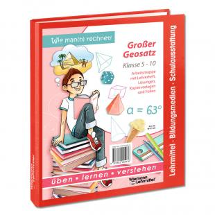 Lehrerarbeitsmappe mit Lösungen - Großer Geometriesatz