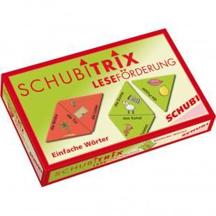SchubiTrix® Leseförderung – einfache Wörter