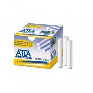 ATLA Compact Hartkreide rund - Weiß