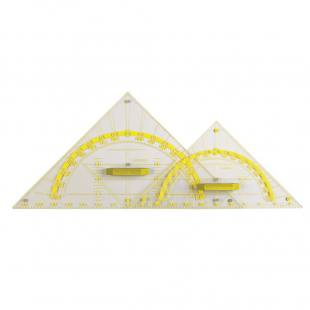 Geometrie-Zeichendreieck - Hypotenuse 60 cm