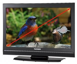 Flachbild-Fernseher von Telefunken