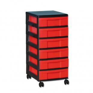 Modulus® Schmaler Rollcontainer