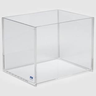 Kunststoffwanne, glasklar  Plexiglas
