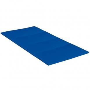 Faltmatte 1-farbig blau