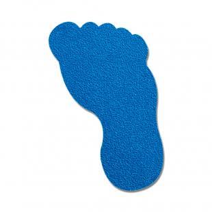 Bodenmarkierung Fuß