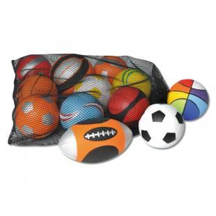 Sportball-Set im Netz