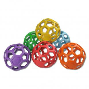 RubberFlex-Greifbälle - Set mit 6 Stück