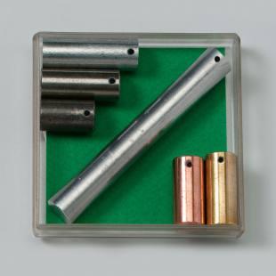 Metallzylinder mit gleicher Masse