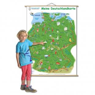 Meine Deutschlandkarte - in 2 Ausführungen