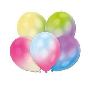 5 LED Ballons