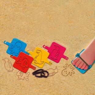 Hand- und Fuß Sandform