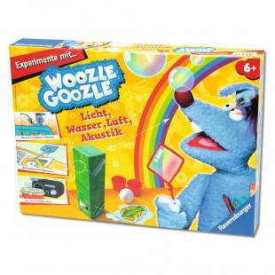 Experimente mit WoozleGoozle - Licht, Wasser, Luft, Akustik