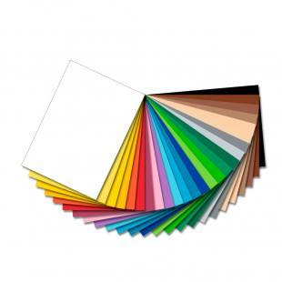 Tonzeichenpapier sortiert in 25 Farben