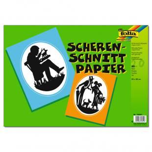 Scherenschnittpapier - ungummiert