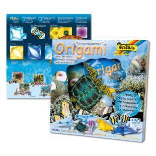 """""""Tierwelten"""" Origamipapier - Unterwasserwelt"""