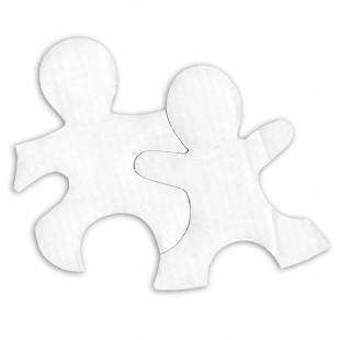 Blanko-Kinder-Puzzle