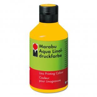 Marabu-Aqua-Linoldruckfarbe, mittelgelb
