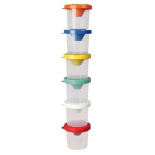 Kunststoffdosen für Marabu-Fingerfarben