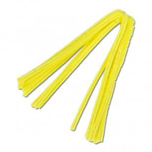 Chenille-Draht - gelb