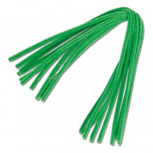 Chenille-Draht - grün