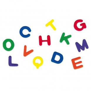 Moosgummi-Stanzteile - Buchstaben