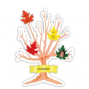 Familienstammbaum Blankoset