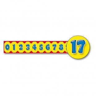 Zierleisten - Zahlen 0-20