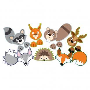 Tiermasken Set