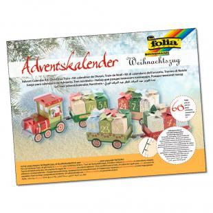 Adventskalender - Weihnachtszug