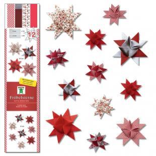 Fröbelsterne rot/weiß